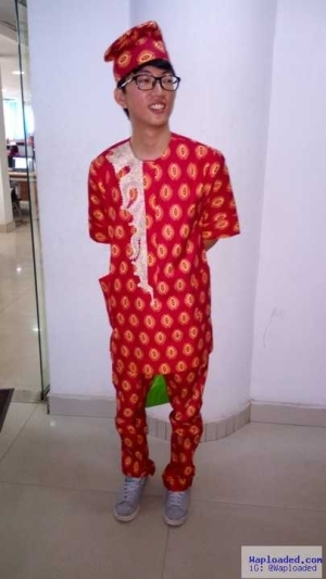 Photos: See What This Chinese Man Looks Like In Yoruba Traditional Attire